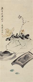 清供图 (peony) by daoben