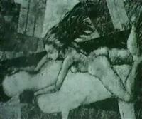 madchen mit golem by rafael markiewicz