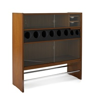 bar cabinet by poul heltborg