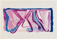 ohne titel / ohne titel / ohne titel (3 works) by bram van velde