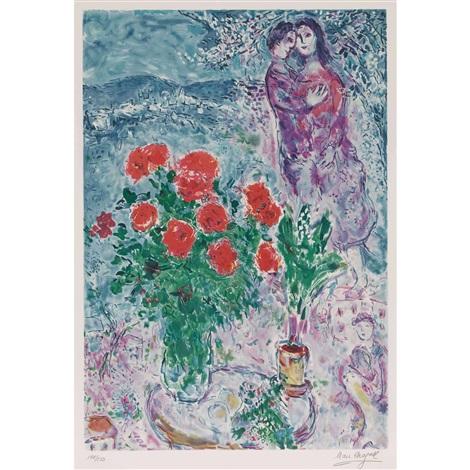 Fleur Damour By Marc Chagall On Artnet