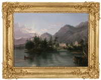caldwell, lake george by samuel lancaster gerry