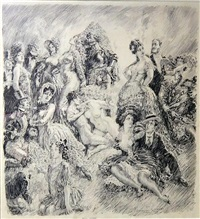holy wars march by norman alfred williams lindsay