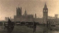 the thames at westminster by james avon smith