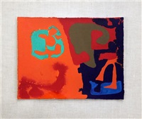 mini may 1979: ii by patrick heron