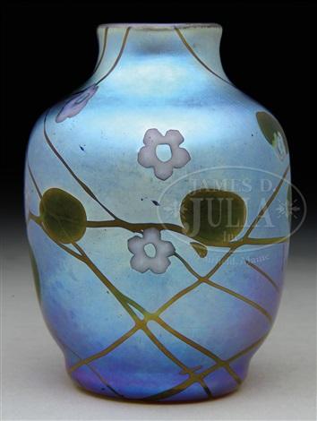 Millefiori Vase By Steuben Glass On Artnet