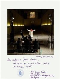 casting jesus by christian jankowski