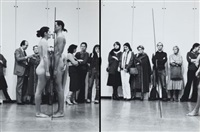 balance proof, performance réalisée au musée d'art et d'histoire de genève le 8 décembre, à l'occasion de l'exposition de m. abramovic/ulay à la galerie m. malacorda (set of 6) by ulay & marina abramovic