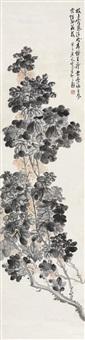 枝上露气 (flowers) by chen banding