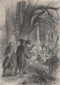 the ambush by william mulready
