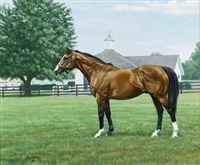 """northern dancer"" by roy miller"