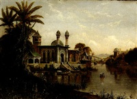 moorish palace by daniel charles grose