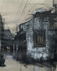 alley series no. 4 by lu hao