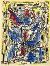 composition (from the ars-series) by asger jorn