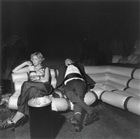 new york city, studio 54 (from social graces) by larry fink