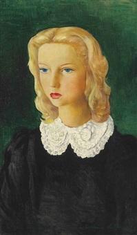 portrait de gail by moïse kisling
