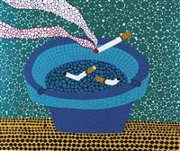 烟灰缸 (ashtray) by yayoi kusama