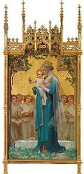 maria med barnet by enric monserday vidal