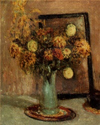 still life of flowers by walter bondy