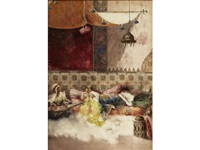 a languid afternoon in the harem by antonio rivas