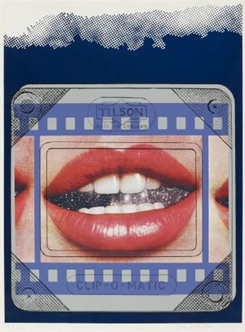 clip-o-matic lips by joe tilson