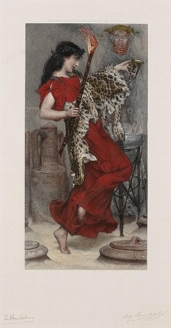 four seasons (+ 3 others; 4 works) by sir lawrence alma-tadema