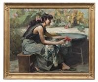 jeune femme by richard durando-togo