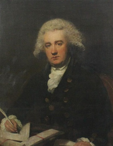 portrait of the hon john cochrane 1750 1801 deputy commissary to the forces in north america mp for burghs dunfermline by lemuel francis abbott