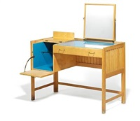 freestanding dressing table by peter hvidt