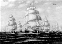 the united states fleet attacks by r.dey de ribcowski