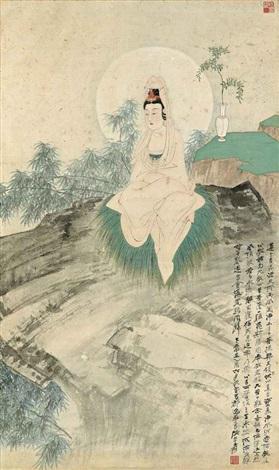 guanyin by zhang daqian