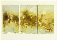 untitled (triptych) by t'ang haywen