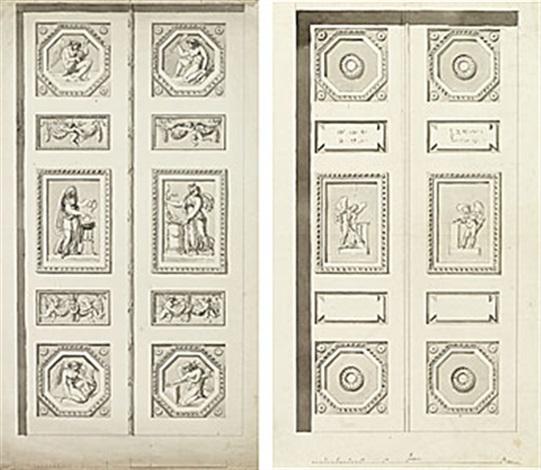 portarna till psyke templet i hagaparken pair by johan tobias sergel