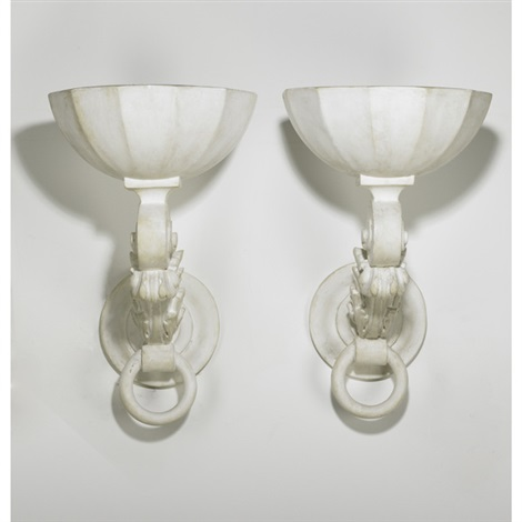 wall sconces pair by henri samuel