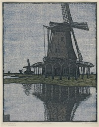windmühlen by carl theodor thiemann