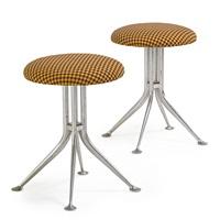 stools (pair) by alexander hayden girard