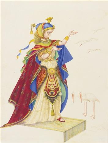The Marsh Kings Daughter By Arthur Szyk