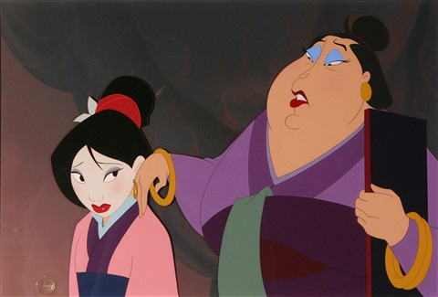 the matchmaker from mulan by disney studios