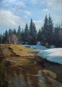 rivière et neige fondantes by reinhard amtsbühler