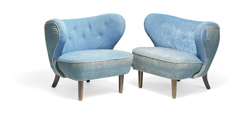 Fine A Two Seater Sofa And A Matching Pair Of Easy Chairs By Evergreenethics Interior Chair Design Evergreenethicsorg