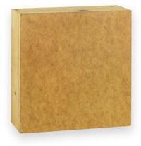 hartfaserquadrat (ehre an kasimir severinowitsch malewitsch) by imi knoebel