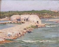 washerwomen, alcantara del rio by jose arpa y perea