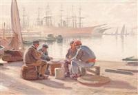 pescadores by dionisio baixeras y verdaguer