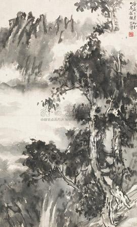 西马拉雅 landscape by xu beihong