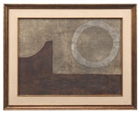 composition abstraite by rufino tamayo