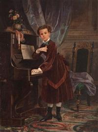 retrato de una niña by francisco-javier amerigo y aparici