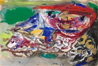 composition with figures by asger jorn