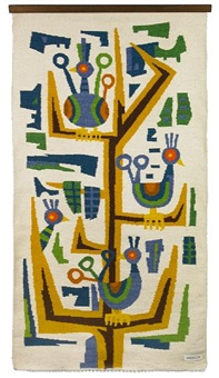 wall hanging (for era industries) by evelyn ackerman