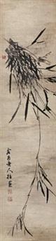墨竹 (ink bamboo) by su tingyu