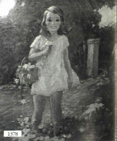no title given a young girl by helen maria turner